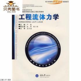 正版工程流体力学 严敬 重庆大学出版社9787562429067