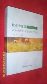 甘肃中北部500种常见野生植物原色图鉴