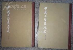 中国文学发展史 上册中册(二册)