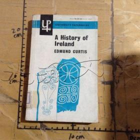 A HISTORY OF LRELAND EDMUND CURTIS