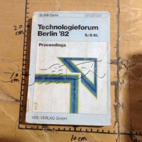 TECHNOLOIEFORUM BERLIN'82