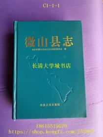 中华人民共和国地方志丛书  微山县志,戊南西F2