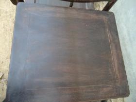 传世的紫檀官帽椅3件套