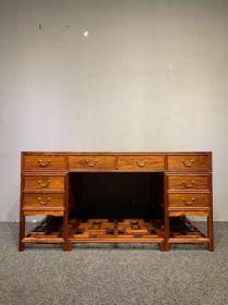 古董古玩黄花梨老家具明清家具木器木艺海南黄花梨书桌