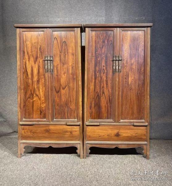 古玩木艺家具海南黄花梨面条柜明清家具