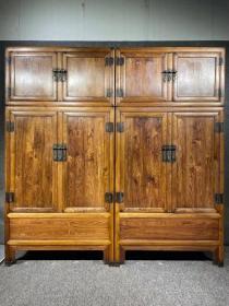 古董古玩黄花梨老家具明清家具木器木艺海南黄花梨顶箱柜
