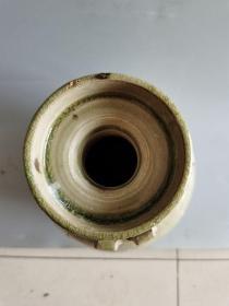 古董老瓷器唐代青瓷瓶