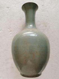 古董古玩老瓷器宋代汝窑瓷瓶