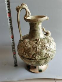 老瓷器相州窑青瓷老瓷器摆件
