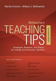 McKeachie's Teaching Tips: Strategies, Research, and Theory for College and University Teachers-麦凯奇的教学技巧