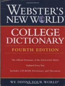 Webster's New World College Dictionary, Fourth Edition-韦伯斯特新世界大学词典,第四版