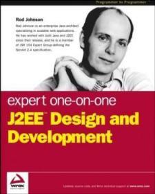 Expert One-on-One J2EE Design and Development-专家一对一j2ee设计与开发