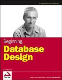 Beginning Database Design-开始数据库设计