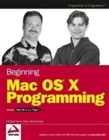 Beginning Mac Os X Programming-开始mac Os X编程
