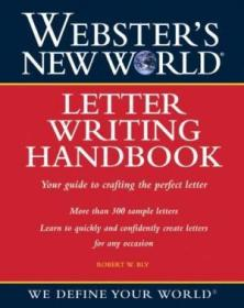 Webster's New World Letter Writing Handbook-韦伯斯特新世界信件写作手册