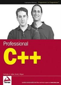 Professional C++ (Programmer To Programmer)-专业C++(程序员到程序员)