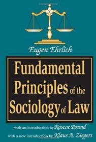 Fundamental Principles Of The Sociology Of Law-法社会学基本原理
