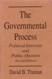 The Governmental Process: Political Interests and Public Opinion-政府程序