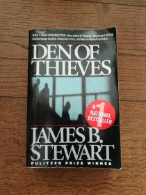 DEN OF THIEVES(英文原版,贼窝。扉页有购者签名,书内有划线和字迹)