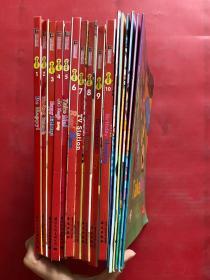 托马斯全能英语. 初级 : Junior(1-10)、配6册练习手册(16本合售)