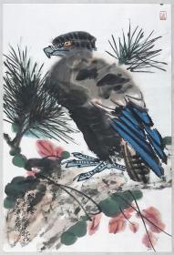 得自作者本人,终身保真(有合影)      王少桓 ,祖籍福建南安,长于深圳,2011年研究生毕业于天津美术学院中国画系,导师贾广健教授。天津市青年美协会员。北京工笔重彩画会会员。2