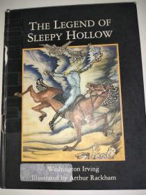 1994年版 The Legend of Sleepy Hollow 沉睡空心的传说  精装英文版 特价处理