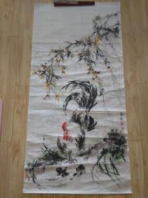 """邓洪国画精品""""大吉图"""",日本皮纸,包快递发货。"""