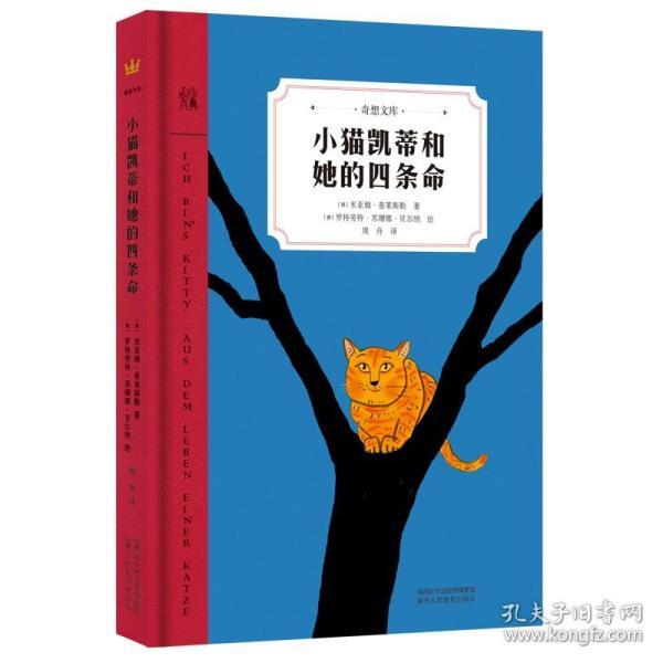 小猫凯蒂和她的四条命(奇想文库)白班千人老师推荐,一只猫的生命感悟,带给孩子暖暖的成长体验