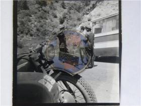 山西省摄影家协会参赛会员作品《路检》(80年代)