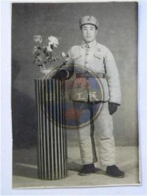 50年代解放军战士留念(50年代)