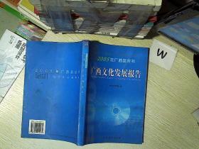 2005年广西蓝皮书 广西文化发展报告
