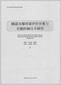 隧道光爆质量评价体系与智能控制技术研究 9787112260874 邹宝平 中国建筑工业出版社 蓝图建筑书店