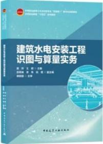 建筑水电安装工程识图与算量实务