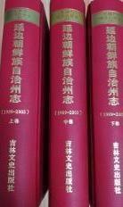 延边朝鲜族自治州志1989-2005  上中下       节日优惠