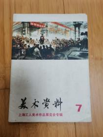 美术资料(7):上海工人美术作品展览会专辑