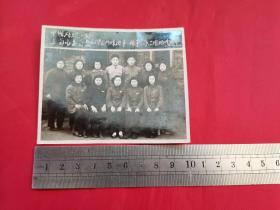 1955年中国纺织工会上海市委员会干部训练班第一期结业留念