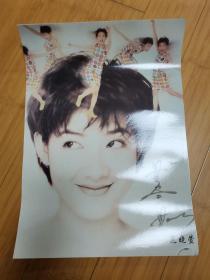 90年代怀旧明星海报贴画:范晓萱2