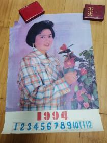 1994年年历画:美女(缺一角)