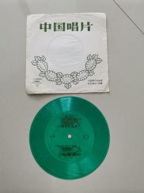 小薄膜唱片:相声-游击小英雄(1张2面)马季、唐杰忠合说