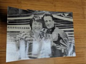 90年代怀旧明星海报贴画:成龙、史泰龙双龙会