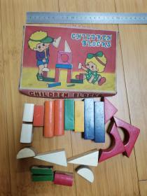 早期的儿童积木