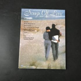 英文原版 钢琴琴谱 songs of oue