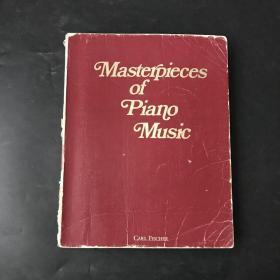 masterpieces of piano music 钢琴名曲270首(英文版 原版)