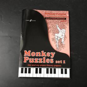monkey puzzles set 钢琴乐谱