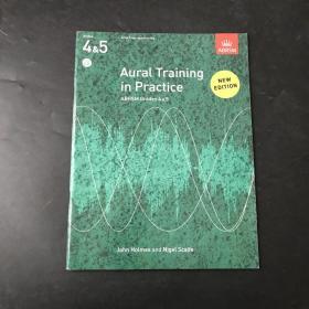 Aural Training in Practice, ABRSM Grades 4- 5英文原版 听觉训练 听觉训练实践 音乐听觉训练 三本合售