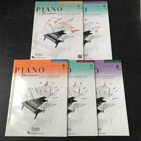 钢琴之旅 piano dventures 菲伯尔钢琴基础教程 英文原版 5本合售
