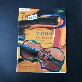 selected violin exanibation pieces