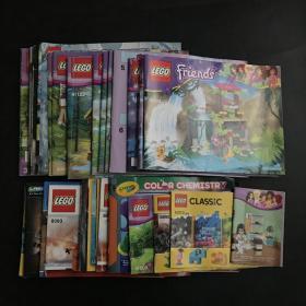 LEGO- Ideas【乐高玩具说明书】大小35本合售 具体看图