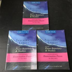 selected piano repertory studies1.2.3.4.5.6.7