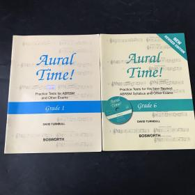 Grade 1.6 NEW REVISED EDITION Aural Time! Practice Tests for the New Revised ABRSM Syllabus and Other Exams